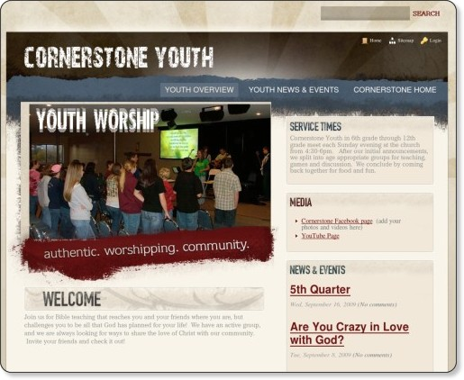 http://youth.mycornerstone.org/