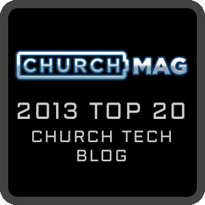 ChurchMag Top 20 - 2013