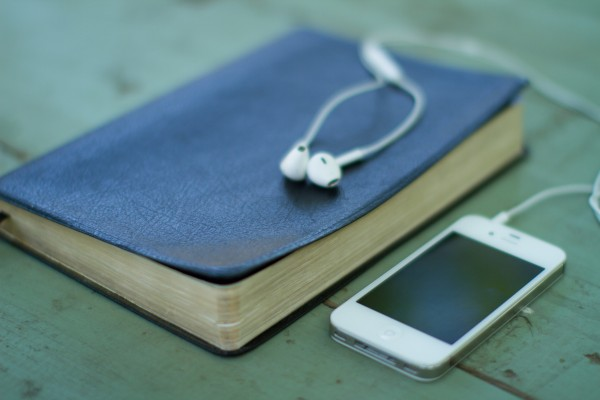 Bible and Phone