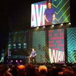 At Newspring today for the Wave Conference