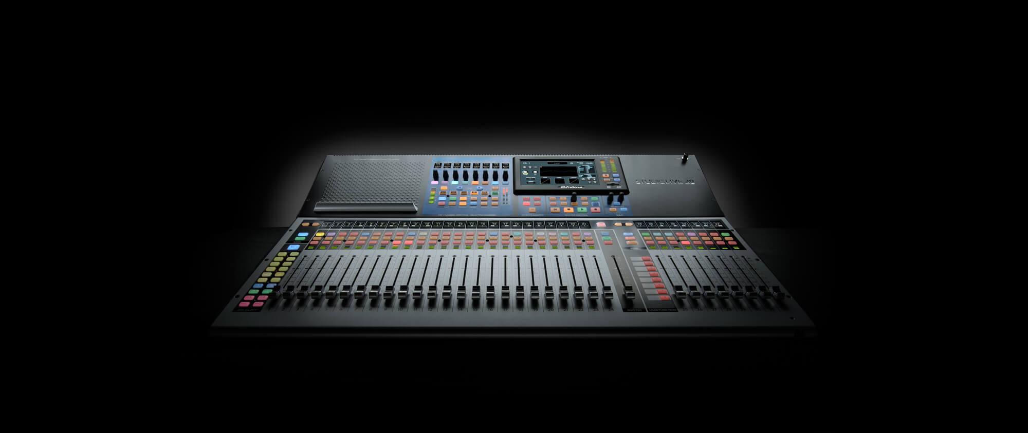 How To Record Sermon Audio For Your Website Or Podcast Faithengineer Studio Live Recording Setup 2010 The New Presonus Studiolive 32 Digital Console